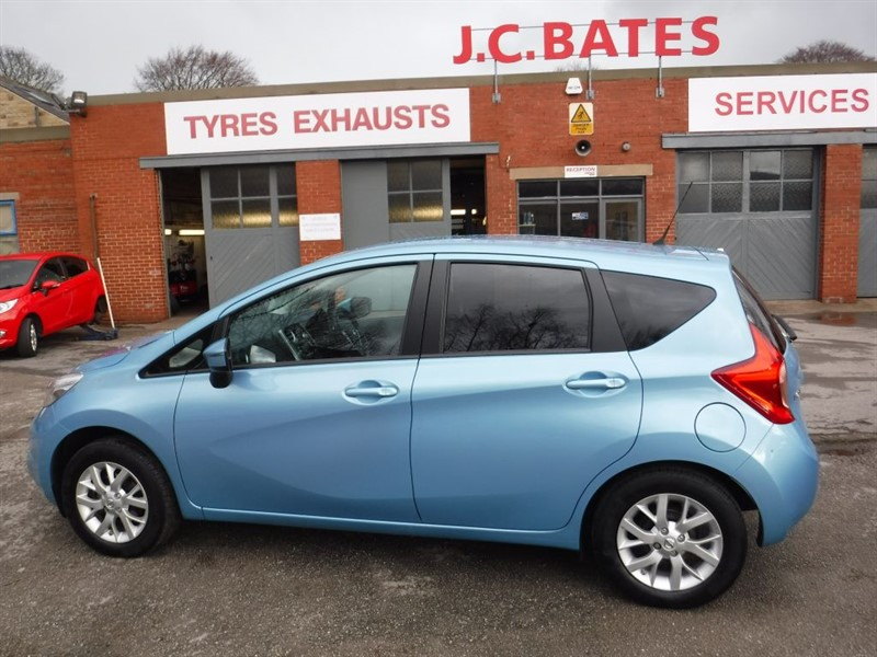 used Nissan Note ACENTA in in-huddersfield-west