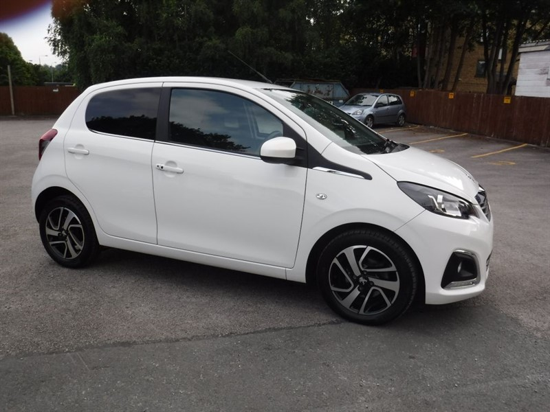 used Peugeot 108 ALLURE in in-huddersfield-west