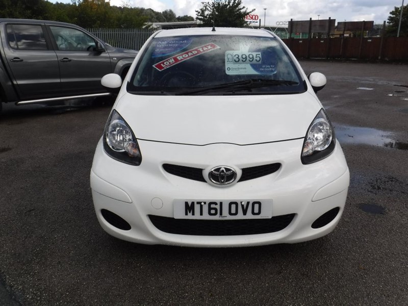 used Toyota Aygo VVT-I GO in in-huddersfield-west