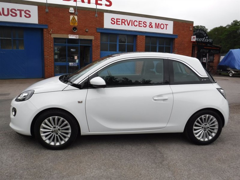 used Vauxhall Adam GLAM in in-huddersfield-west