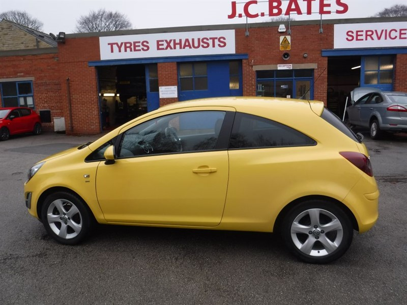 used Vauxhall Corsa SXI AC in in-huddersfield-west