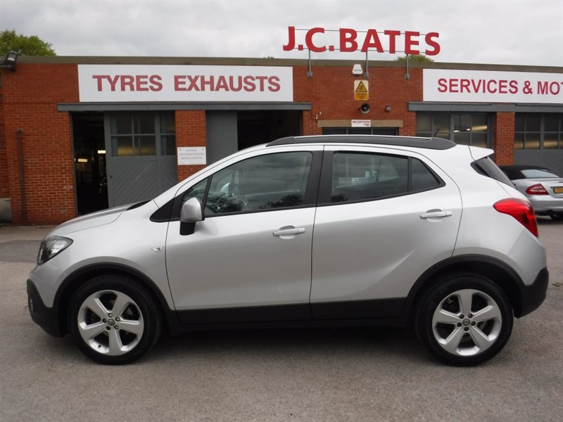 used Vauxhall Mokka EXCLUSIV S/S 4X4 TURBO in in-huddersfield-west