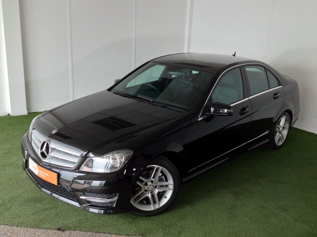 used Mercedes C180 BLUEEFFICIENCY AMG SPORT in bournemouth