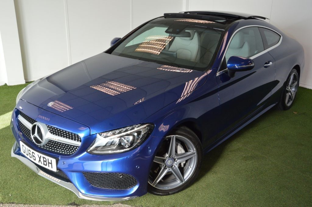 used Mercedes C220 D AMG LINE PREMIUM PLUS COUPE         in bournemouth