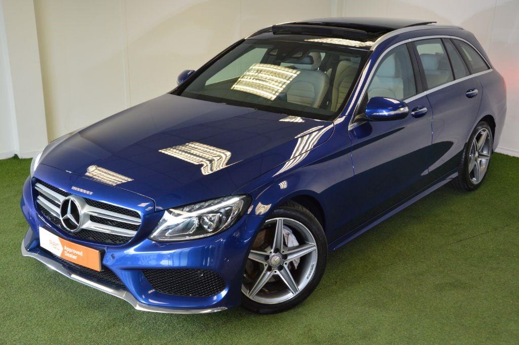 used Mercedes C220 BLUETEC AMG LINE PREMIUM PLUS ESTATE in bournemouth