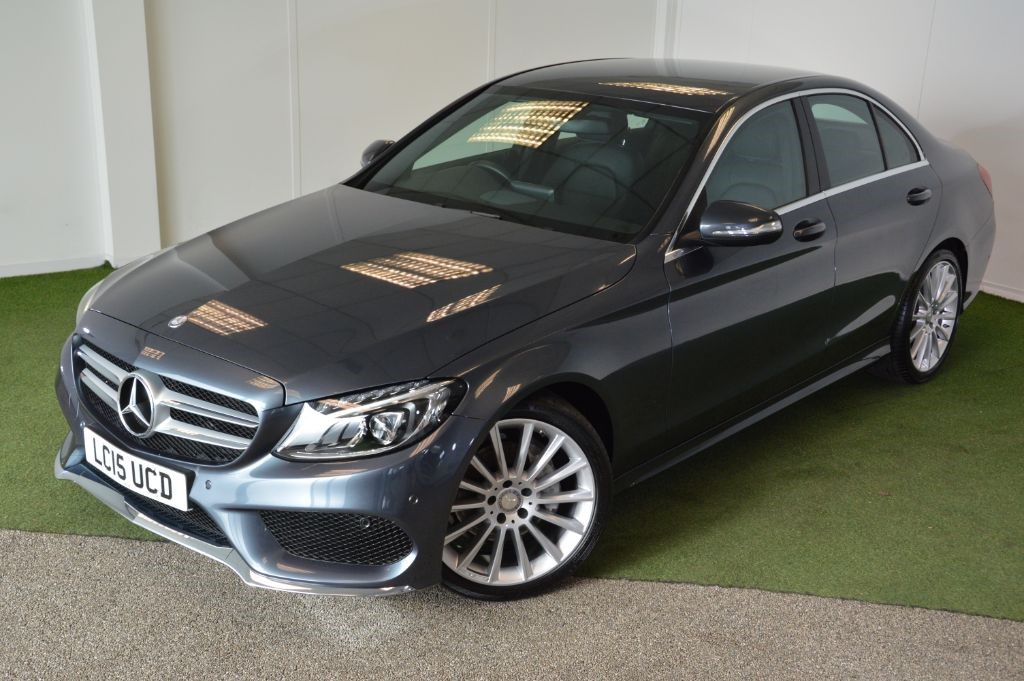 used Mercedes C220 BLUETEC AMG LINE in bournemouth