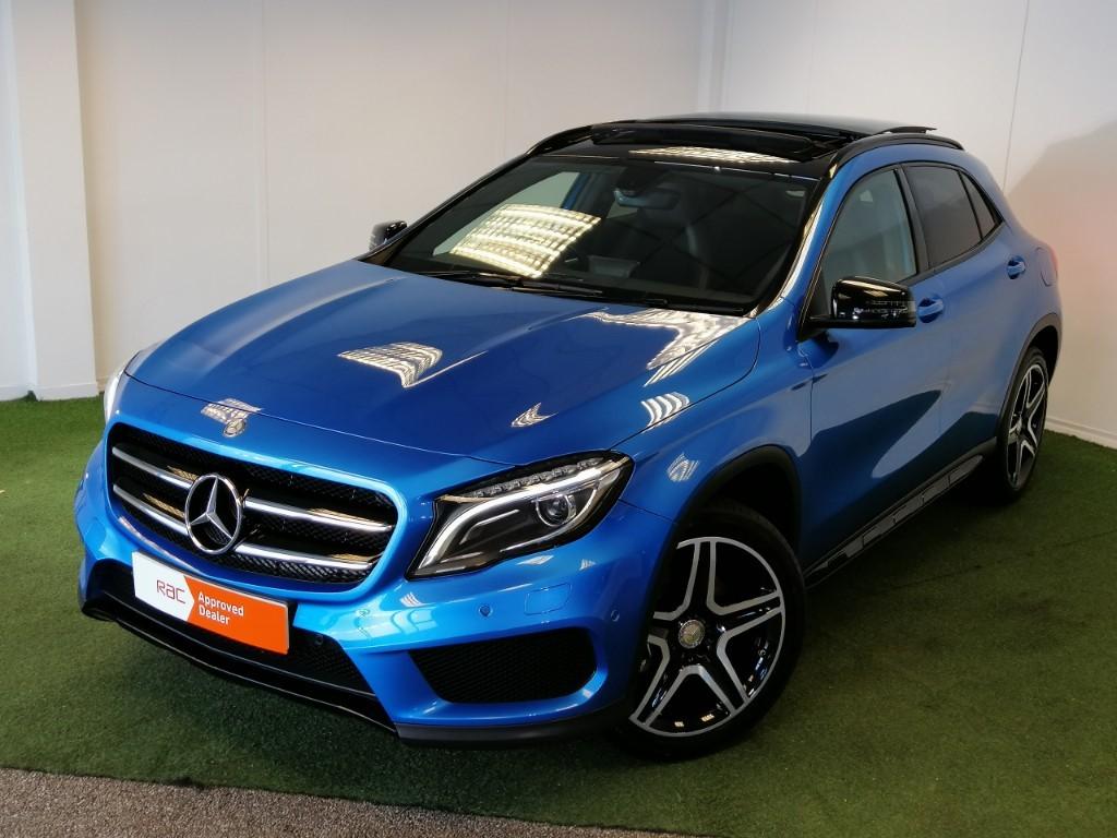 used Mercedes GLA220 CDI 4MATIC AMG LINE PREMIUM PLUS in bournemouth
