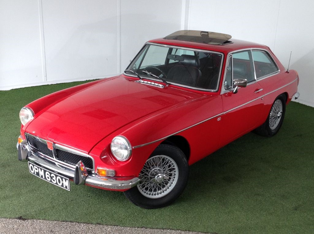 used MG MGB B GT in bournemouth