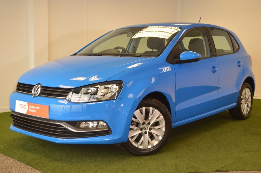 used VW Polo BlueMotion Tech SE in bournemouth