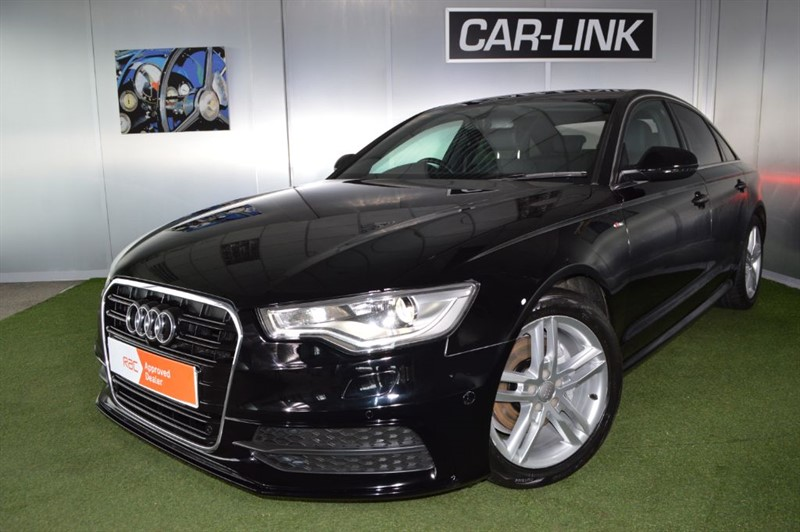 used Audi A6 TDI S LINE in bournemouth