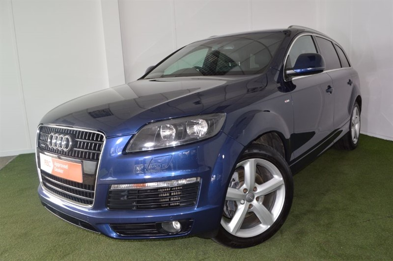 used Audi Q7 TDI QUATTRO S LINE in bournemouth
