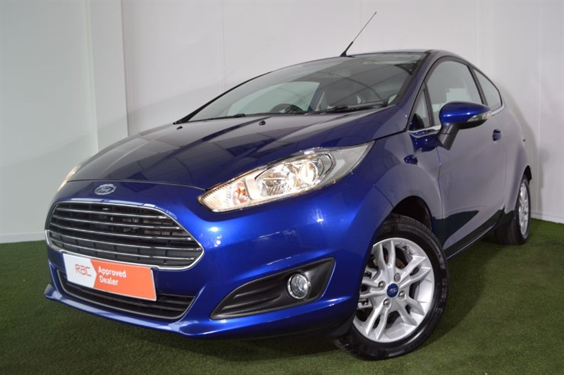 used Ford Fiesta ZETEC in bournemouth