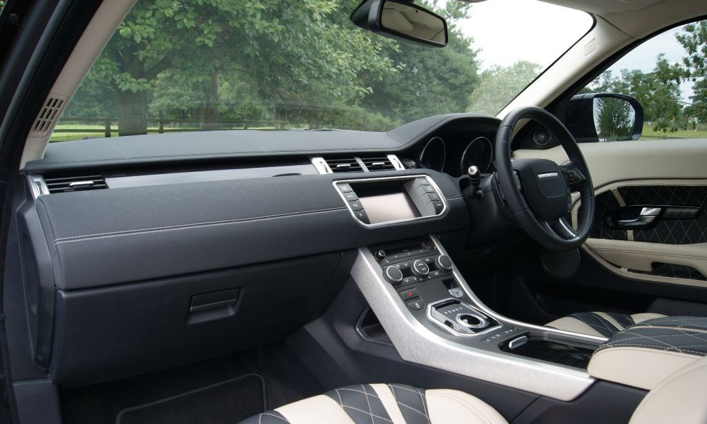 Used Land Rover Onyx Evoque Rogue Edition Cheshire