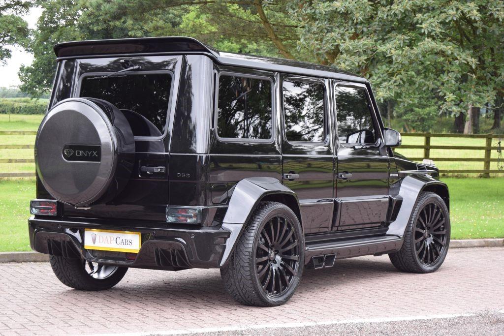 Used Mercedes Onyx Concept G7 G63amg 5 5 Biturbo Cheshire