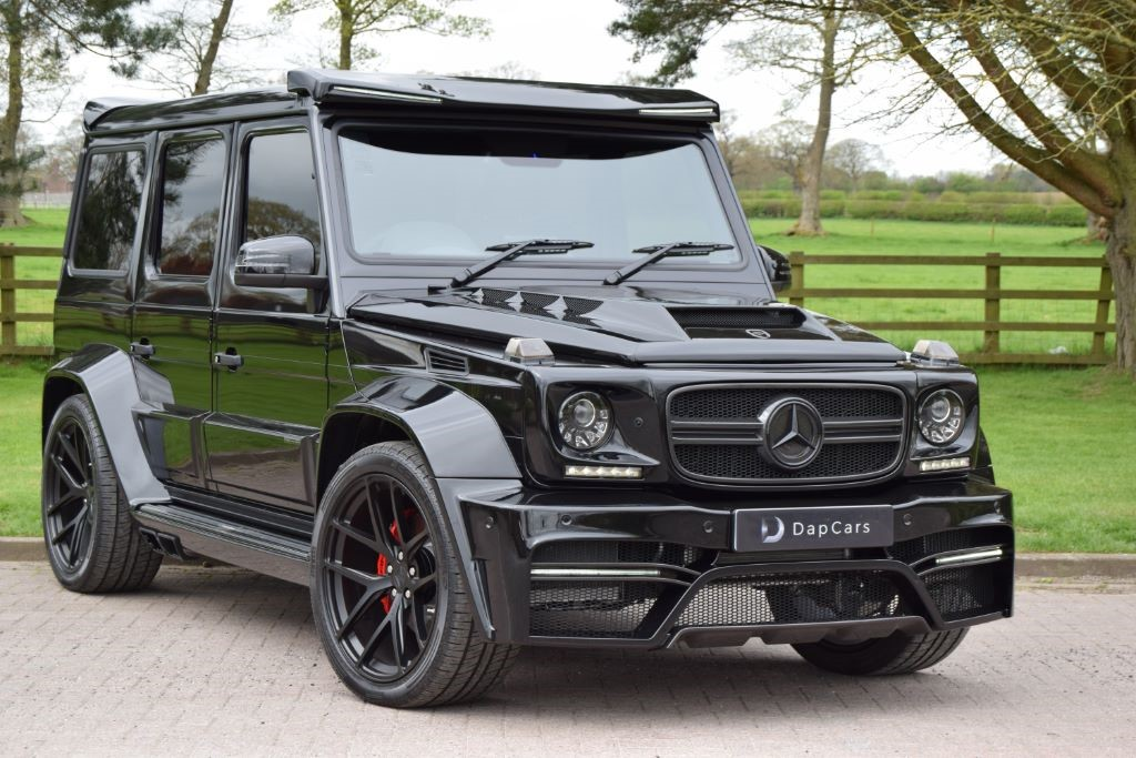 Used Mercedes Onyx Concept G7 G63amg 463 Edition Cheshire