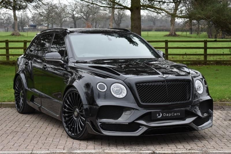 used Bentley Bentayga Onyx Concept GTX 4x4 4.0 V8 Mulliner in cheshire