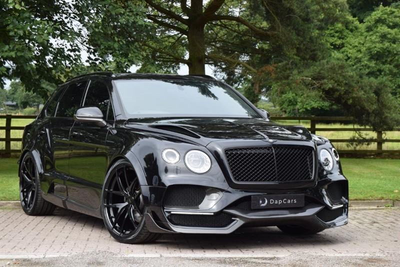 used Bentley  Onyx Concept GTX 4x4 Bentayga V8 in cheshire
