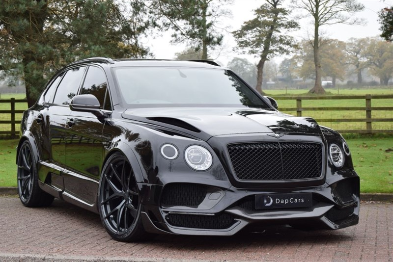 used Bentley  Onyx Concept GTX 4x4 Bentayga V8 in cheshire