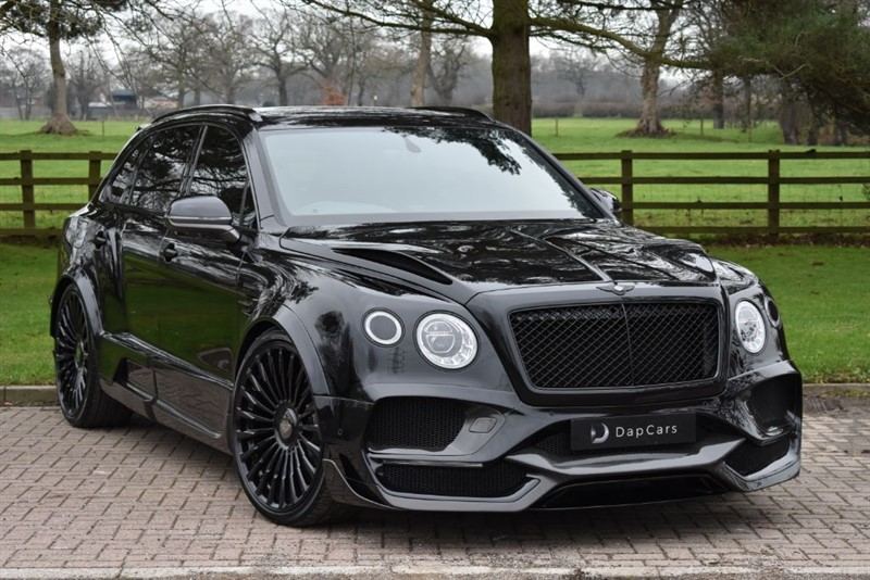 used Bentley  Onyx Concept GTX 4x4 4.0 V8 Mulliner in cheshire