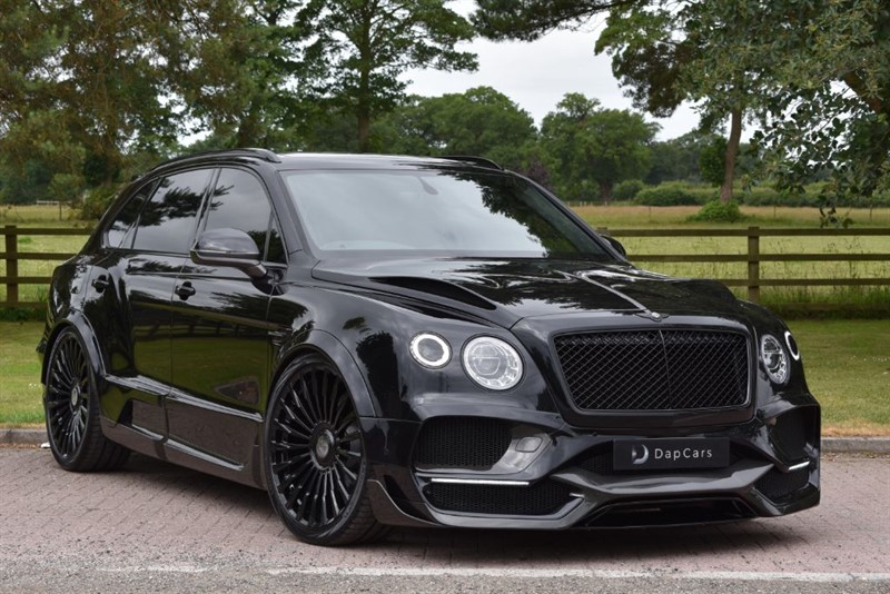 used Bentley  Onyx Concept GTX 4x4 V8 Mulliner in cheshire