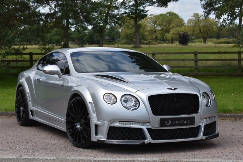 Used Bentley Onyx Concept GTX Continental Gt Speed | Cheshire