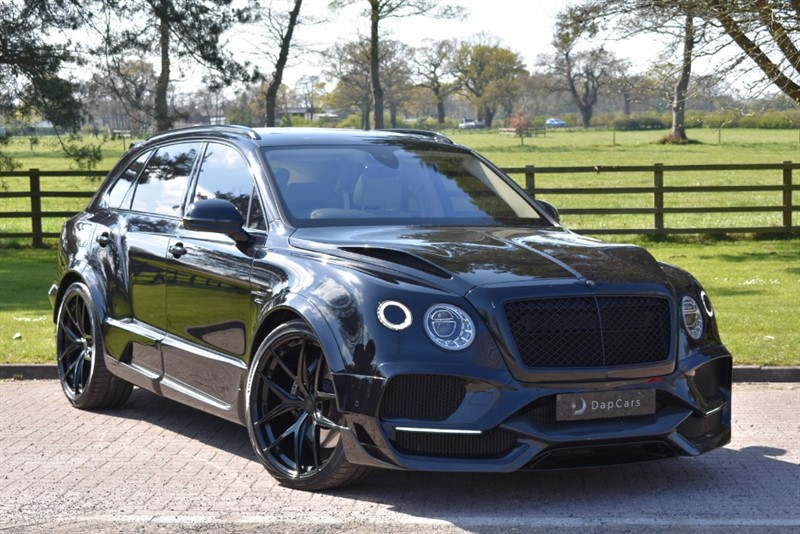 used Bentley  Onyx Concept GTX 4x4 W12 Mulliner in cheshire
