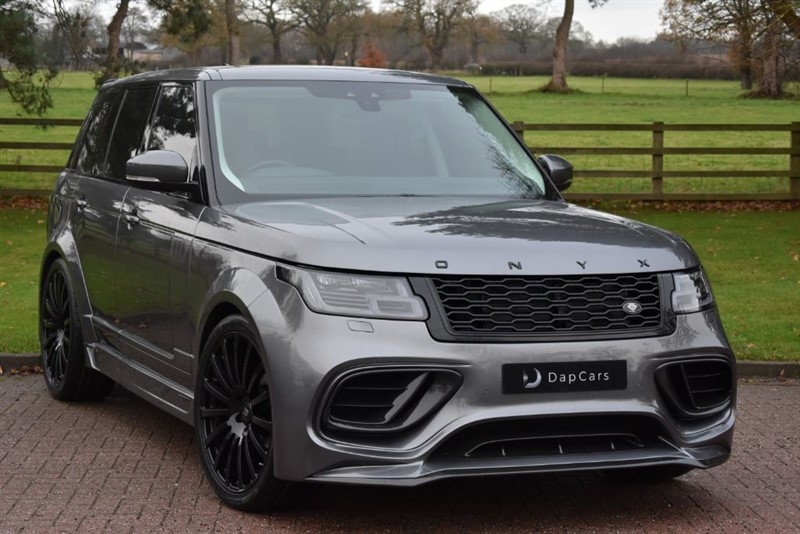 used Land Rover  Onyx Concept Aspen 3.0TDV6 Vogue in cheshire