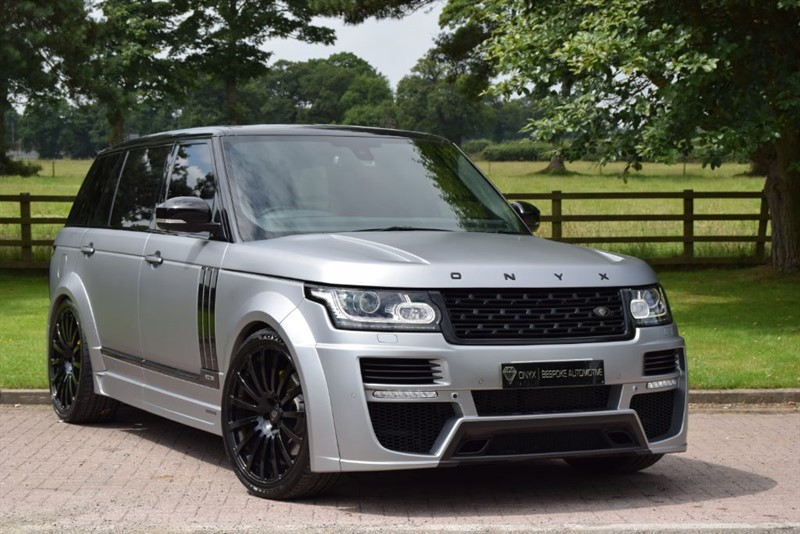 used Land Rover  Onyx Concept Aspen Edition 50 Autobiography Lwb in cheshire