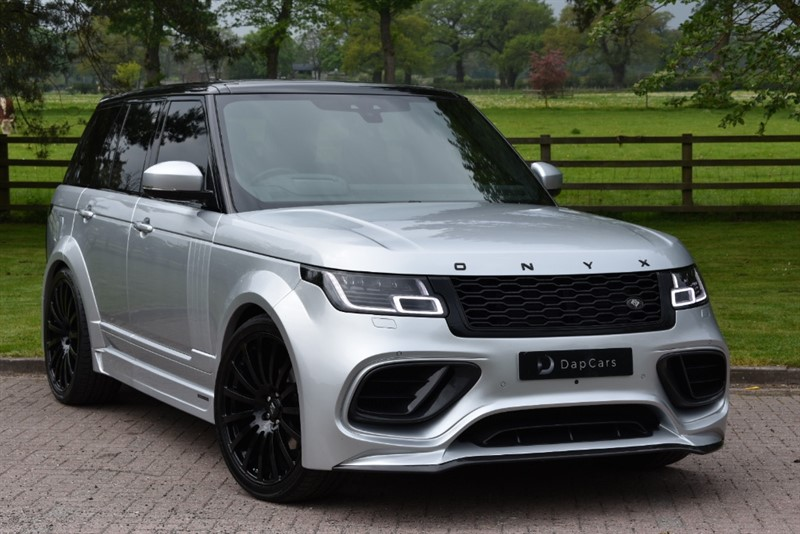 used Land Rover Range Rover SDV6 VOGUE in cheshire