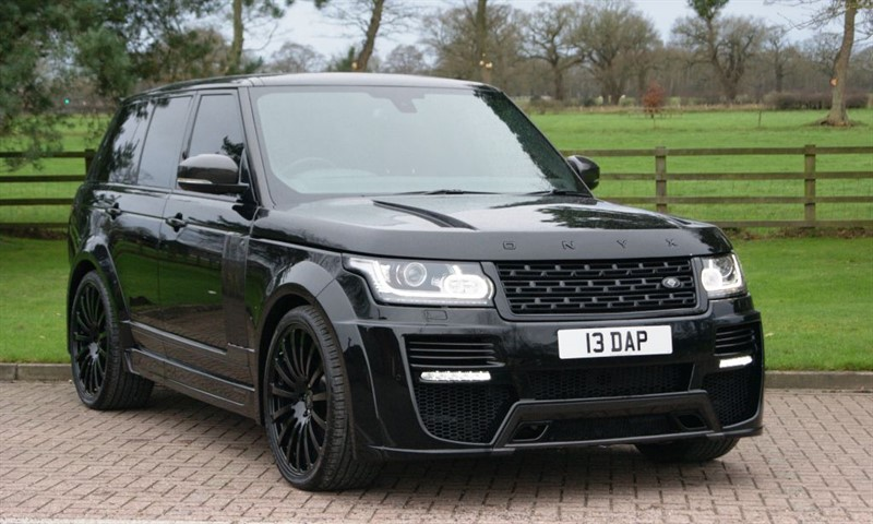 used Land Rover Range Rover Onyx Concept Vogue 3.0TDV6 in cheshire