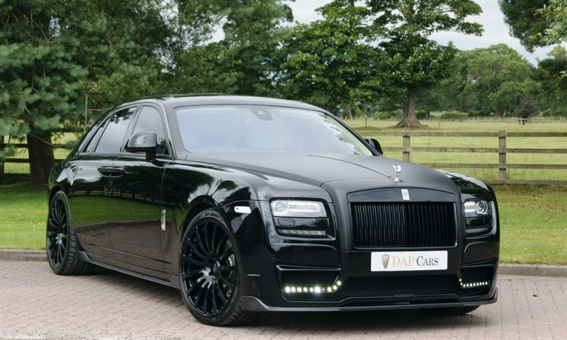 used Rolls-Royce Ghost Onyx Concept St Moritz in cheshire
