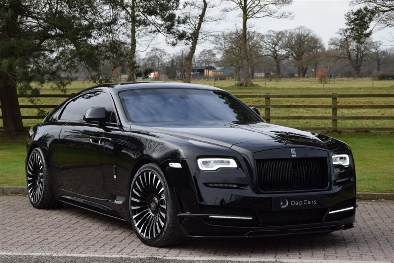 used Rolls-Royce Wraith Onyx Concept in cheshire