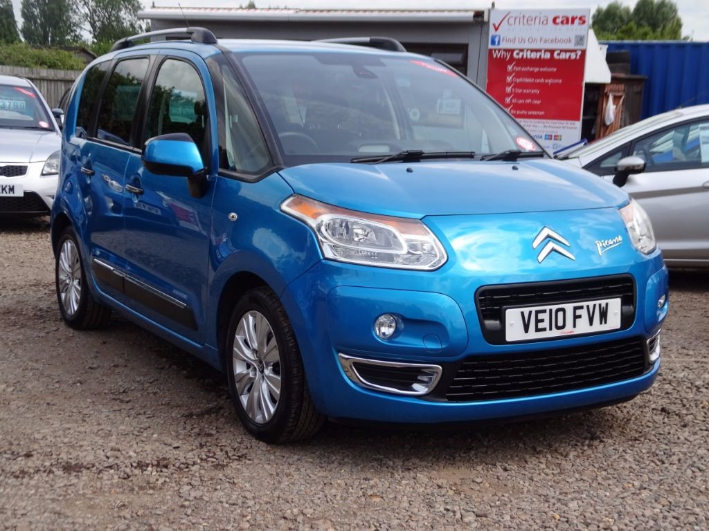 used blue citroen c3 picasso for sale cambridgeshire. Black Bedroom Furniture Sets. Home Design Ideas