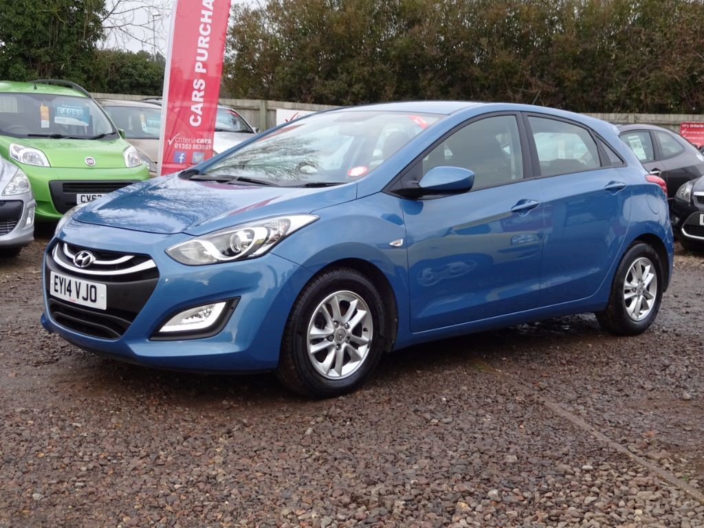 used blue hyundai i30 for sale cambridgeshire. Black Bedroom Furniture Sets. Home Design Ideas