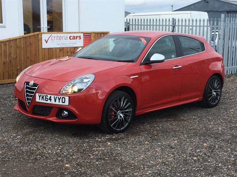 used Alfa Romeo Giulietta JTDM-2 EXCLUSIVE in cambridgeshire-for-sale