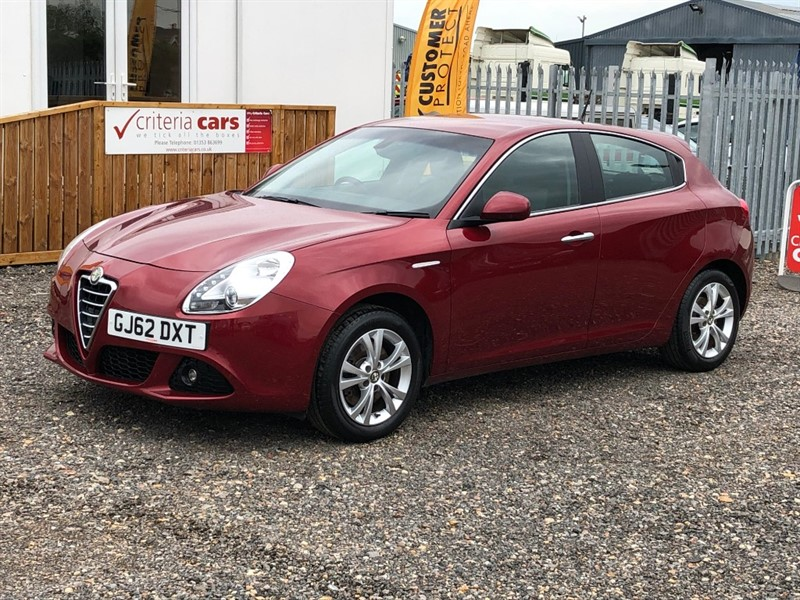 used Alfa Romeo Giulietta TB MULTIAIR LUSSO Used cars Ely, Cambridge in cambridgeshire-for-sale