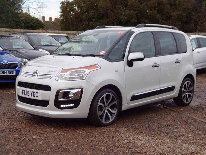 used Citroen C3 Picasso EXCLUSIVE HDI in cambridgeshire-for-sale