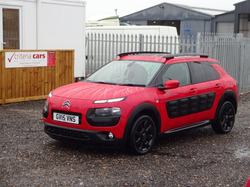 used Citroen C4 Cactus BLUEHDI FLAIR in cambridgeshire-for-sale