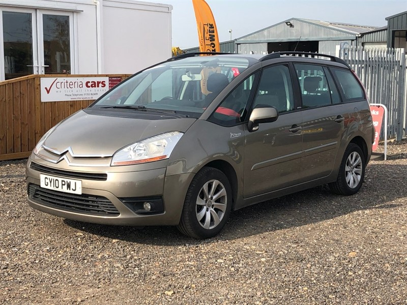 used Citroen C4 HDI VTR PLUS EGS GRAND PICASSO in cambridgeshire-for-sale