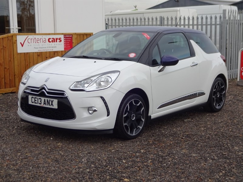 used Citroen DS3 E-HDI DSTYLE PLUS in cambridgeshire-for-sale