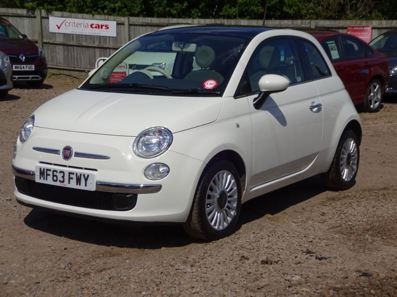 used Fiat 500 LOUNGE in cambridgeshire-for-sale