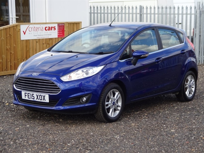 used Ford Fiesta ZETEC in cambridgeshire-for-sale
