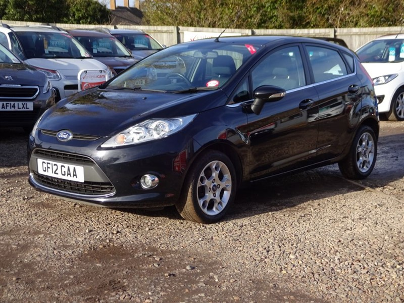 used Ford Fiesta ZETEC TDCI in cambridgeshire-for-sale