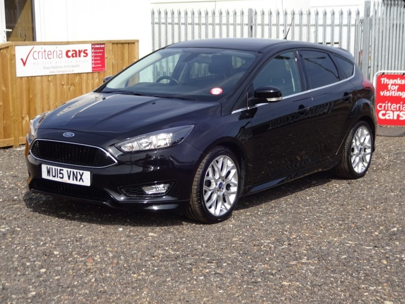 used Ford Focus ZETEC S in cambridgeshire-for-sale