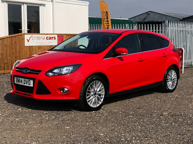 used Ford Focus ZETEC in cambridgeshire-for-sale