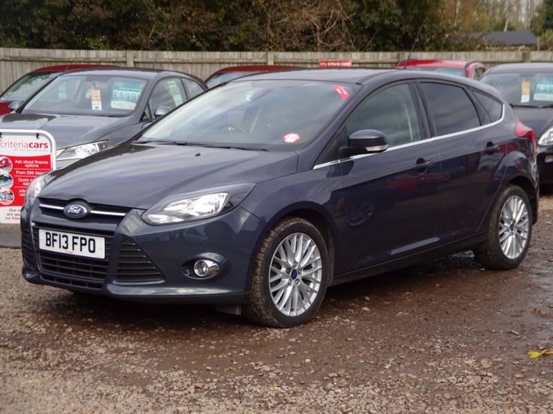 used Ford Focus ZETEC TDCI in cambridgeshire-for-sale