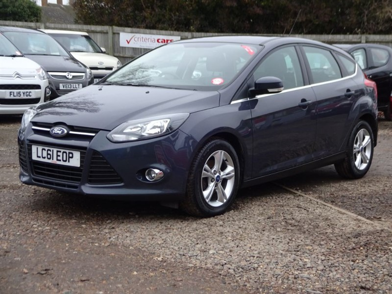 used Ford Focus ZETEC TDCI in cambridgeshire-for-sale