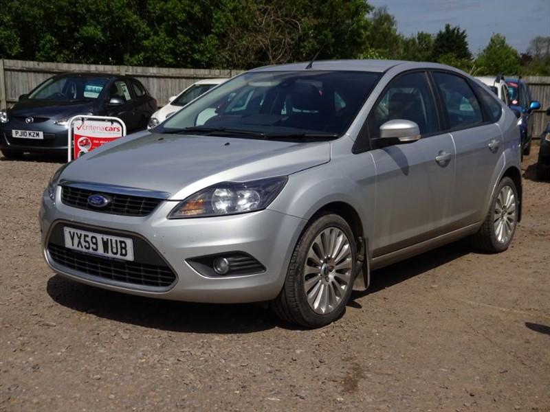 used Ford Focus TITANIUM in cambridgeshire-for-sale