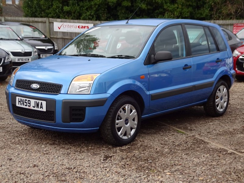 used Ford Fusion STYLE PLUS in cambridgeshire-for-sale