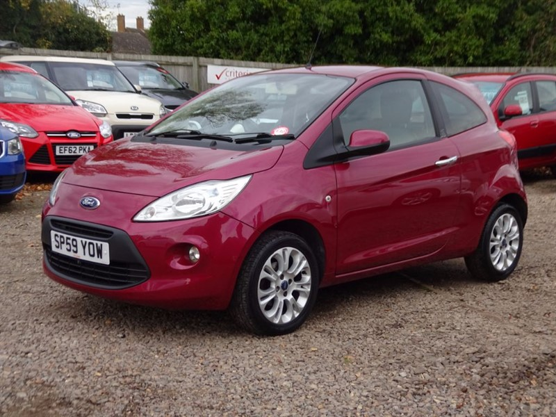 used Ford KA ZETEC in cambridgeshire-for-sale